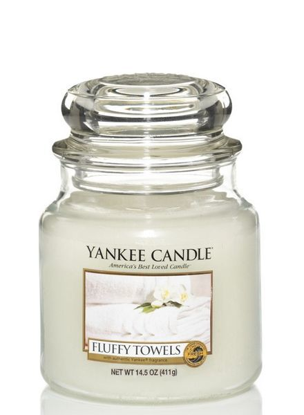 Yankee Candle Fluffy Towels Medium Jar