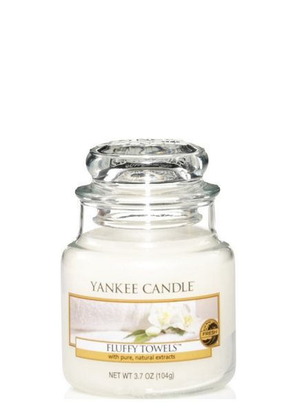 Yankee Candle Yankee Candle Fluffy Towels Small Jar