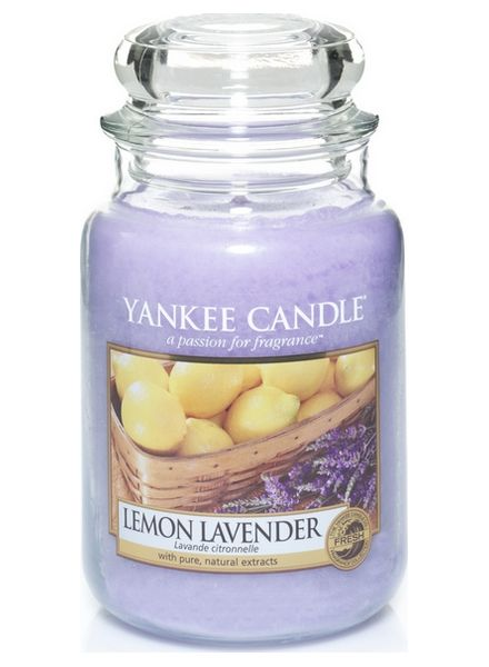 Yankee Candle Yanke Candle Lemon Lavender Large Jar