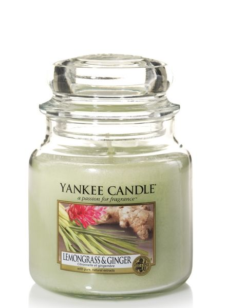 Yankee Candle Yankee Candle Lemongrass & Ginger Medium Jar