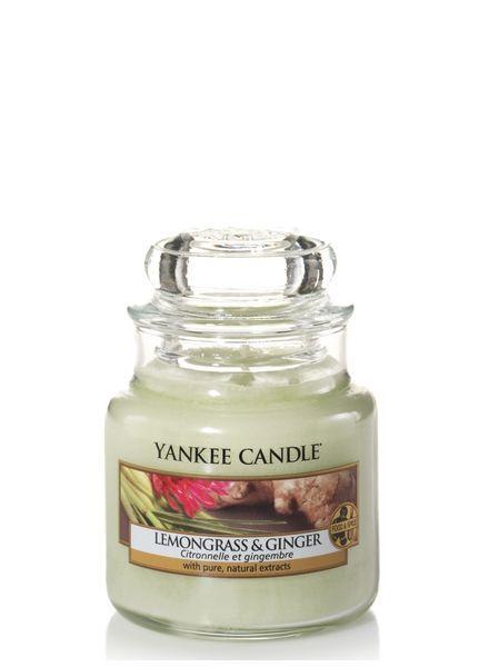 Yankee Candle Lemongrass & Ginger Small Jar
