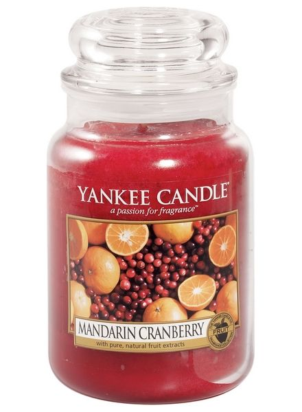 Yankee Candle Yanke Candle Mandarin Cranberry Large Jar