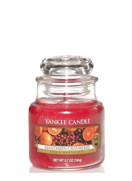 Yankee Candle Yankee Candle Mandarin Cranberry Small Jar