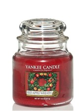 Yankee Candle Red Apple Wreath Medium Jar