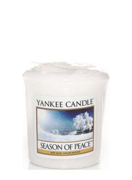 Yankee Candle Season Of Peace Votive