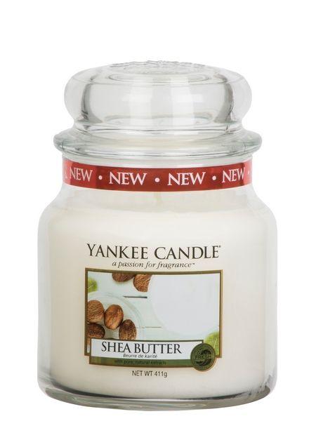 Yankee Candle Yankee Candle Shea Butter Medium Jar