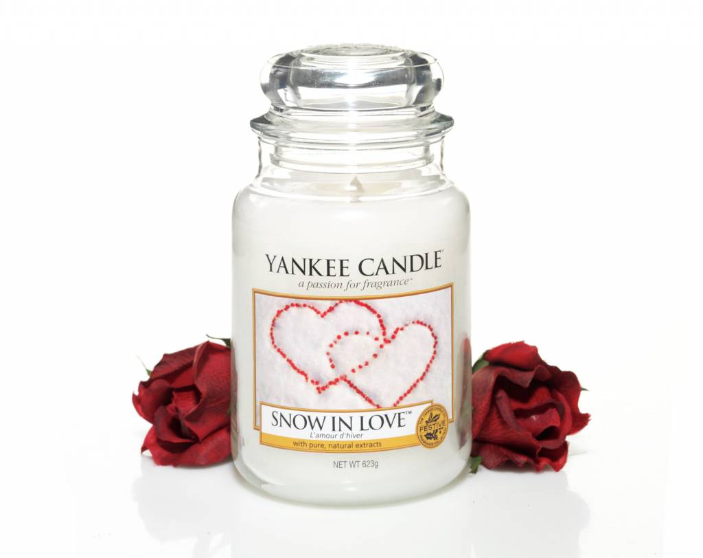 Yankee Candle Yanke Candle Snow In Love Large Jar