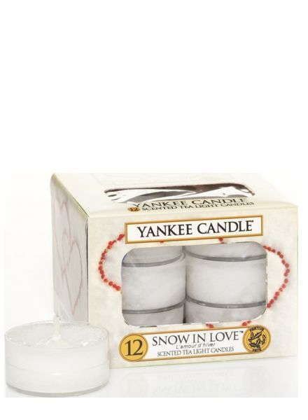 Yankee Candle Snow In Love Theelichten