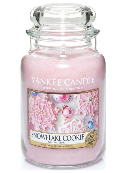 Yankee Candle Yankee Candle Snowflake Cookie Large Jar