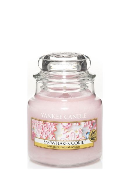 Yankee Candle Yankee Candle Snowflake Cookie Small Jar