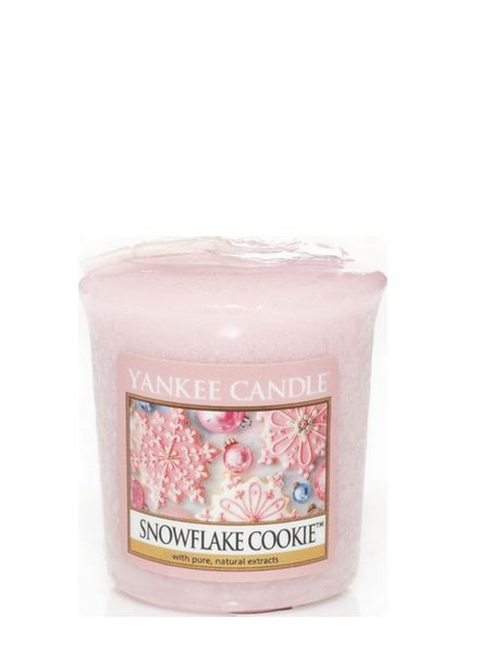 Yankee Candle Yankee Candle Snowflake Cookie Votive