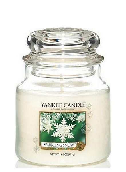 Yankee Candle Yankee Candle Sparkling Snow Medium Jar