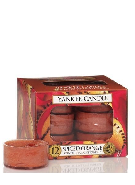 Yankee Candle Spiced Orange Theelichten