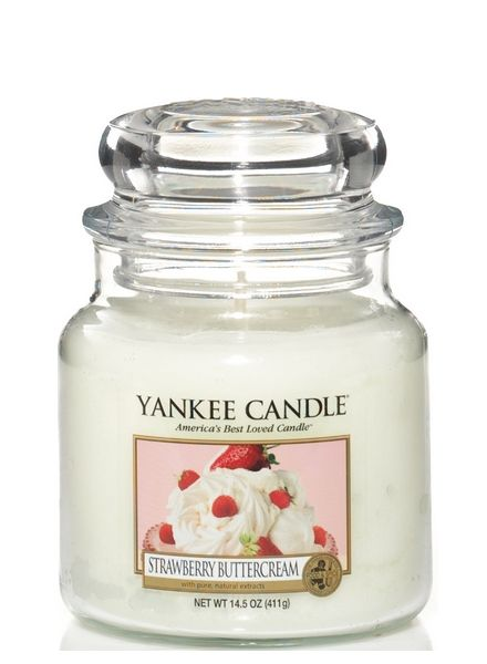 Yankee Candle Yankee Candle Strawberry Buttercream Medium Jar