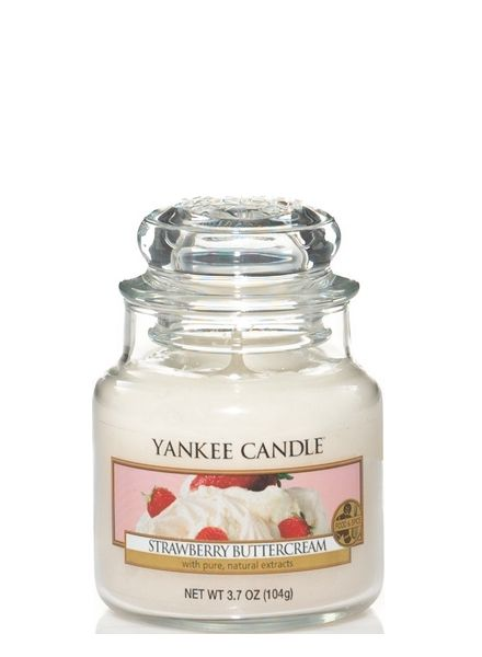 Yankee Candle Yankee Candle Strawberry Buttercream Small Jar