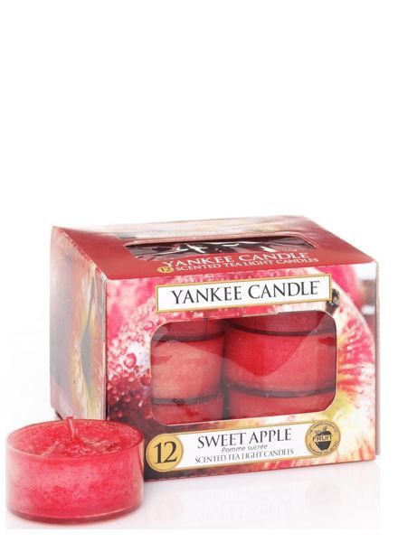 Yankee Candle Sweet Apple Theelichten