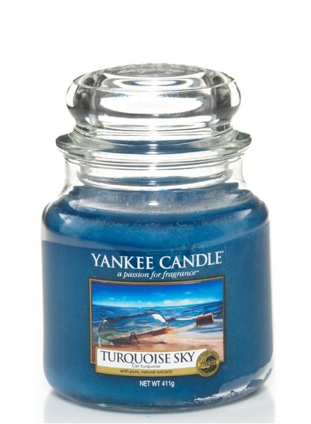 Yankee Candle Yankee Candle Turquoise Sky Medium Jar