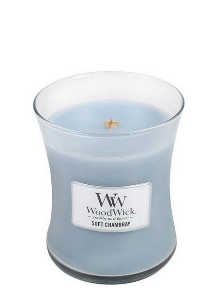 Woodwick WoodWick Medium Soft Chambray