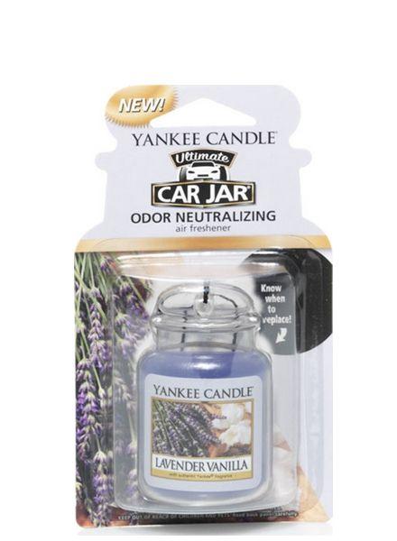 Yankee Candle Car Jar Ultimate Lavender Vanilla