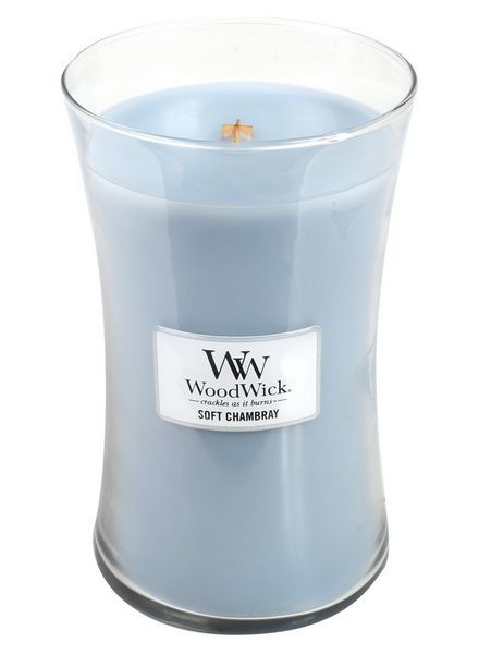 Woodwick Large Soft Chambray