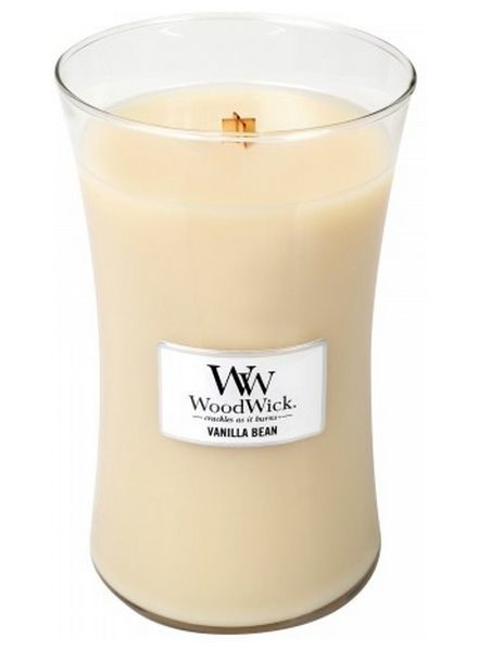 Woodwick Large Vanilla Bean