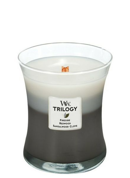 Woodwick Trilogy Warm Woods Medium