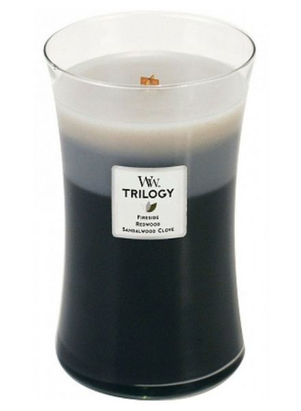 Woodwick Trilogy Warm Woods Large