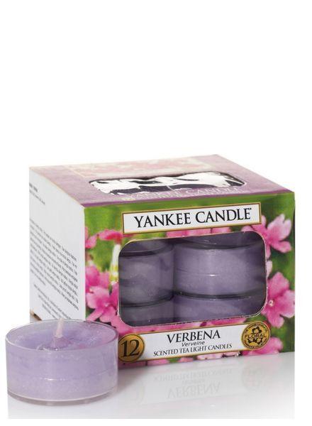 Yankee Candle Verbena Theelichten