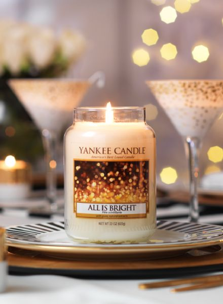 Yankee Candle Yankee Candle All Is Bright Large Jar