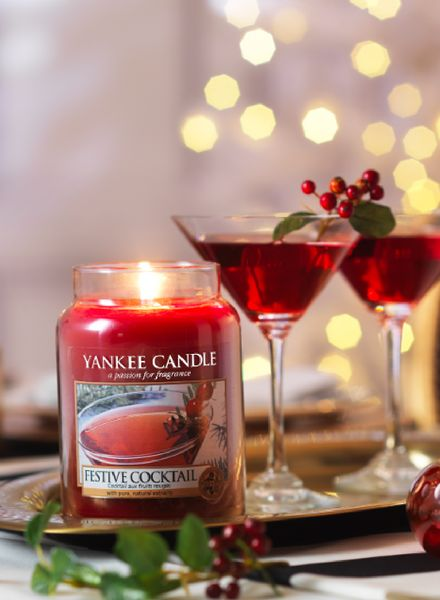 Yankee Candle Yankee Candle Festive Cocktail Large Jar