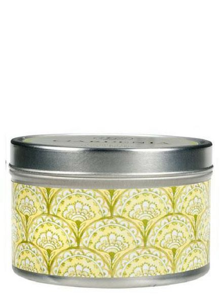 Greenleaf Candle Tin Gardenia