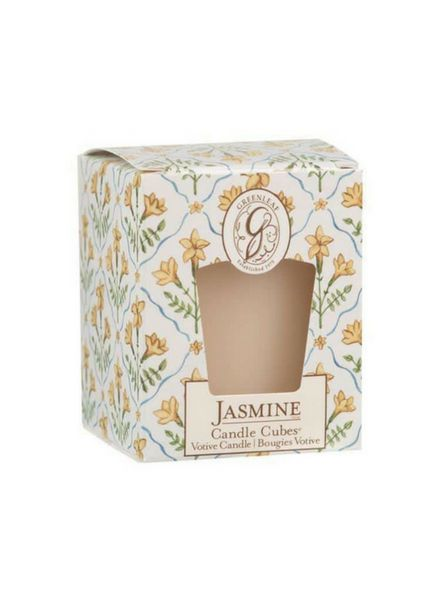 Greenleaf Candle Cube Jasmine