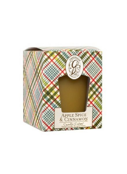 Greenleaf Candle Cube Apple Spice & Cinnamon
