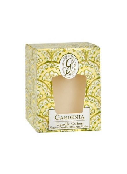 Greenleaf Candle Cube Gardenia