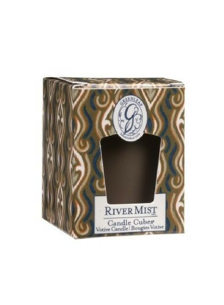 Greenleaf Candle Cube River Mist