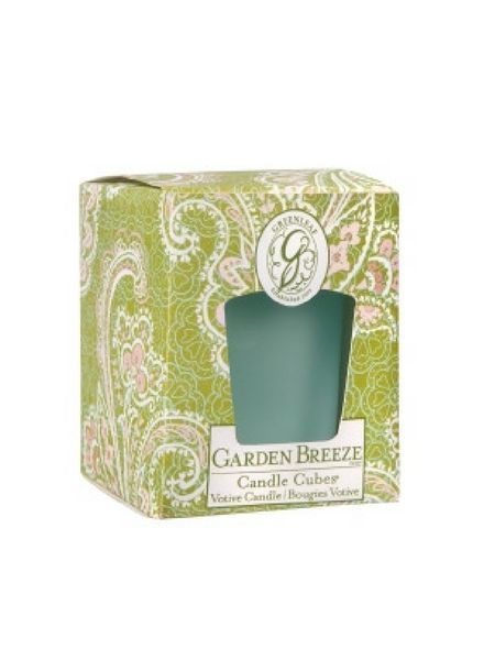Greenleaf Candle Cube Garden Breeze