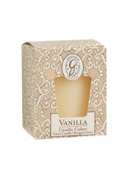 Greenleaf Greenleaf Candle Cube Vanilla