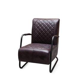Buffel leren fauteuil Matrix