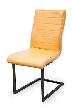 Buffel leren stoel Swing zonder armleuning