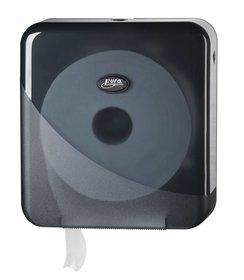 Pearl Black Mini Jumbo Toiletroldispenser