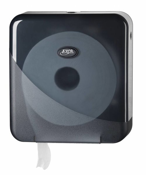 Euro Products Pearl Black Mini Jumbo Toiletroldispenser