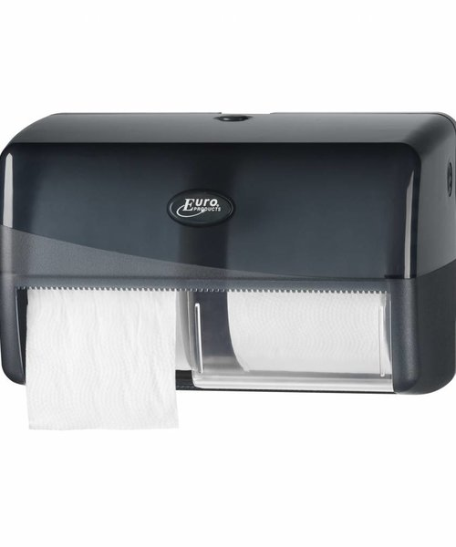 Euro Products Pearl Black Duo Compact Toiletrolhouder