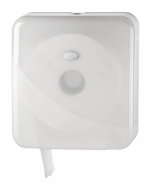 Euro Products Pearl White Mini Jumbo Toiletroldispenser