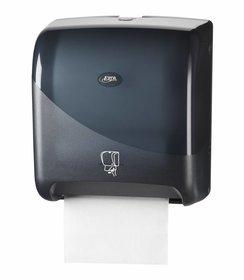 Pearl Black Handdoekautomaat Tear & Go Euro Matic