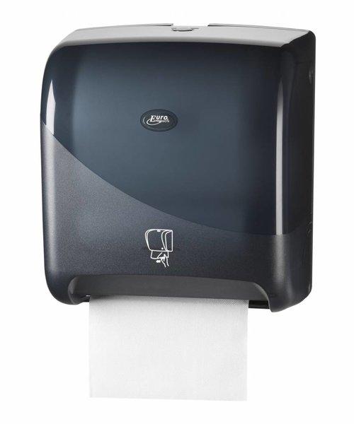 Euro Products Pearl Black Handdoekautomaat Tear & Go Euro Matic