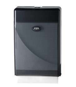 Pearl Black Minifold Handdoekdispenser