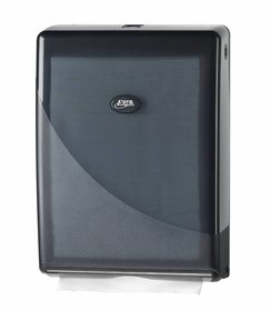 Pearl Black Multifold, C-fold Handdoekdispenser