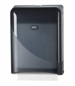 Pearl Black Interfold, Z-fold Handdoekdispenser