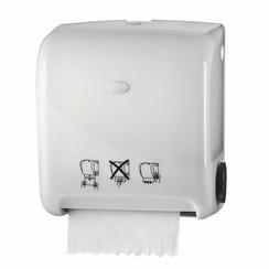 Pearl White Handdoekautomaat Autocut Euro Matic