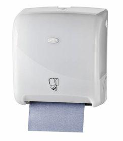 Pearl White Handdoekautomaat Tear & Go Euro Matic